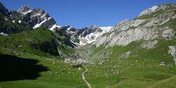 OD 2015 Appenzellerland Säntis Wandern Impressionen 7 Berggasthaus Meglisalp