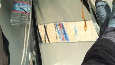 OD 2015 Dawn Wall Portaledge Ruhetag Übernachten Schlafen adidas