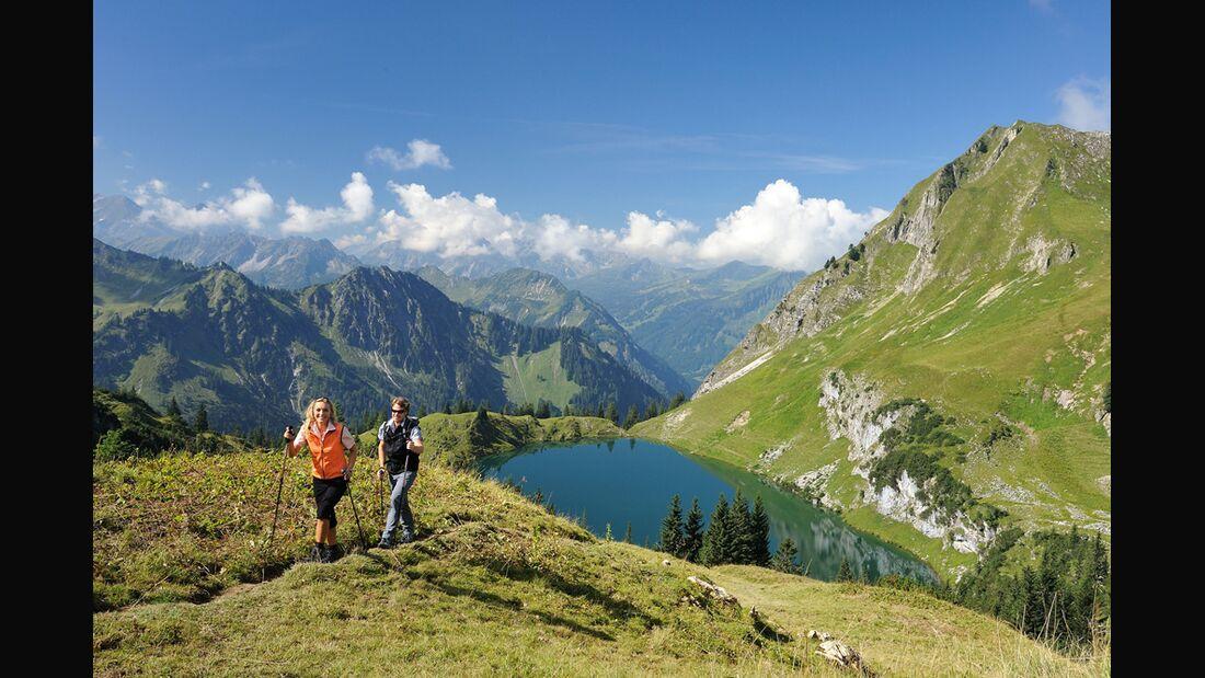 OD 2015 Kooperation Sportscheck WanderFestival Oberstdorf Wandern