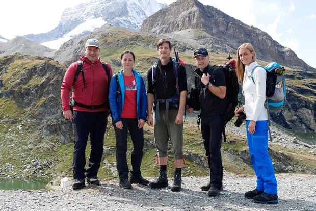 OD 2015 Matterhorn Mammut Leseraktion Gletscher Wandern 2