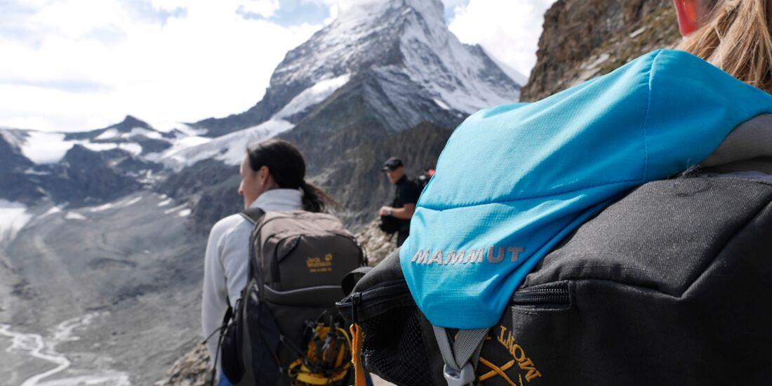 OD 2015 Matterhorn Mammut Leseraktion Gletscher Wandern 5