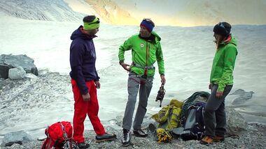 OD 2016 ASI Bergführer rät Ausrüstung für Hochtouren