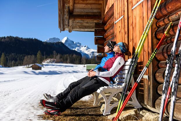 OD 2016 Bayern Winter Special Langlauf Pause