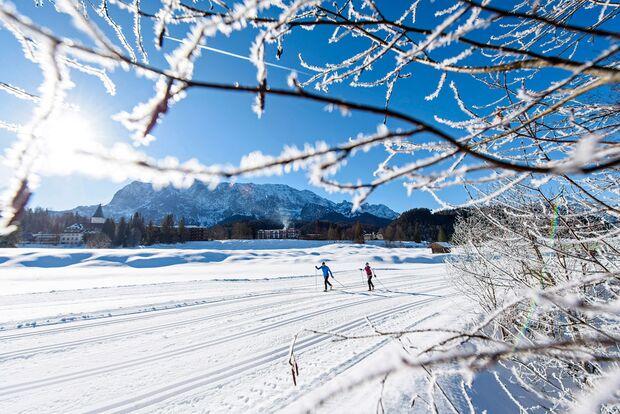 OD 2016 Bayern Winter Special Langlauf Schloss Elmau
