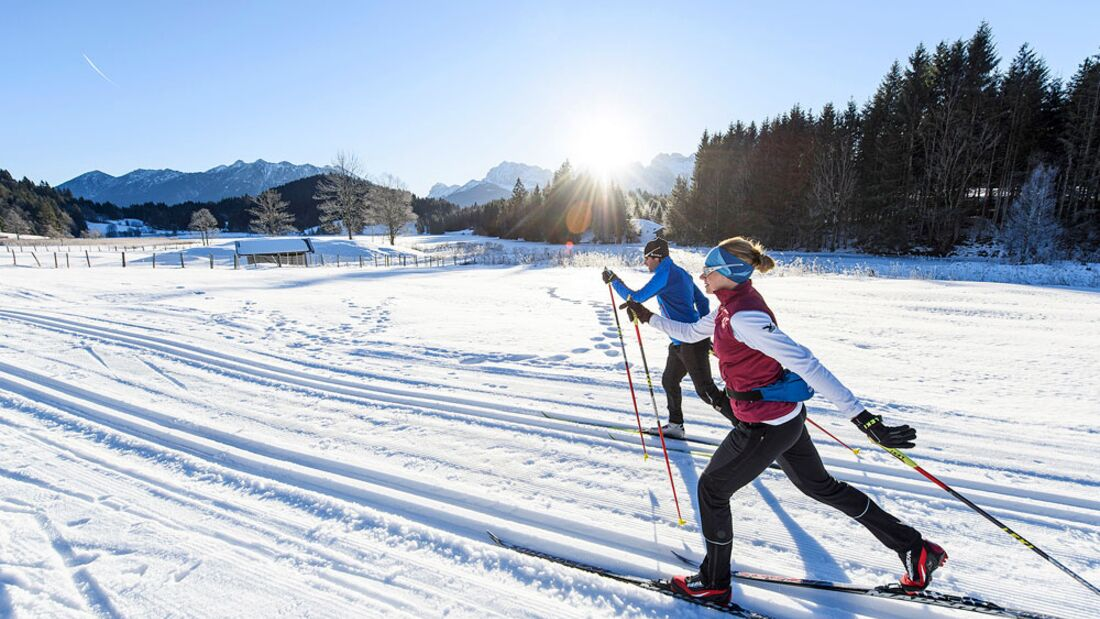 OD 2016 Bayern Winter Special Langlauf in Aktion