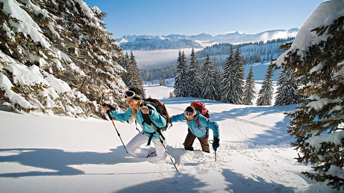 OD 2016 Bayern Winter Special Schneeschuh Aufmacher