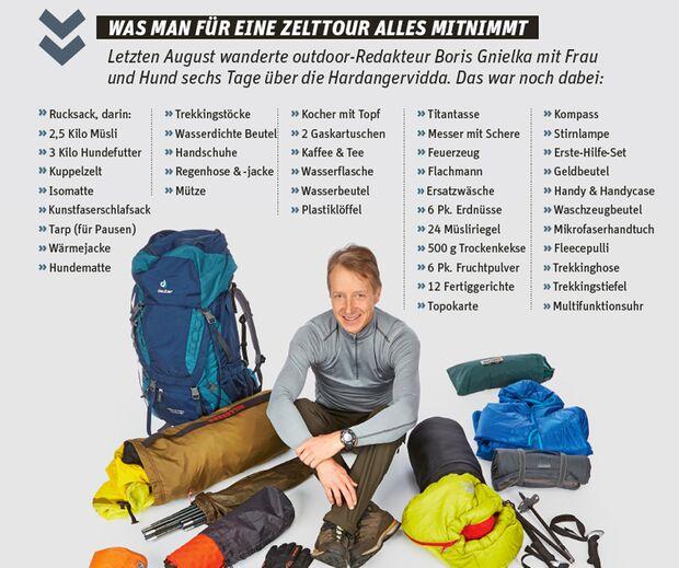 OD 2016 Boris Packliste Hardangervidda