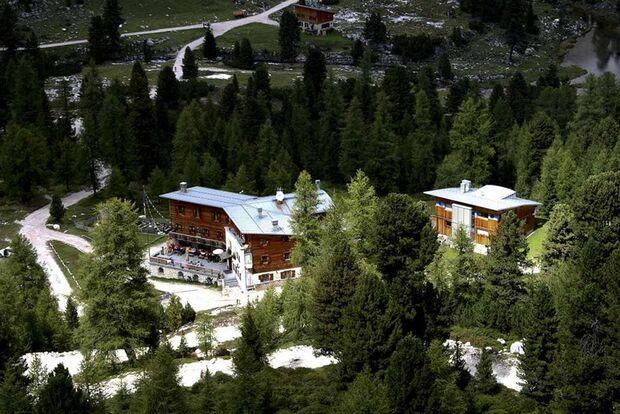 OD 2016 Hütte Rifugio Fanes Dolomiten Südtirol Hüttentour