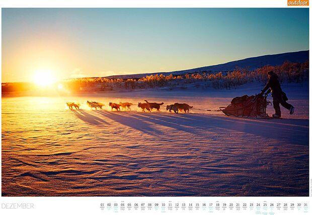 OD 2016 Kalender Best of Outdoor 2017 Dezember