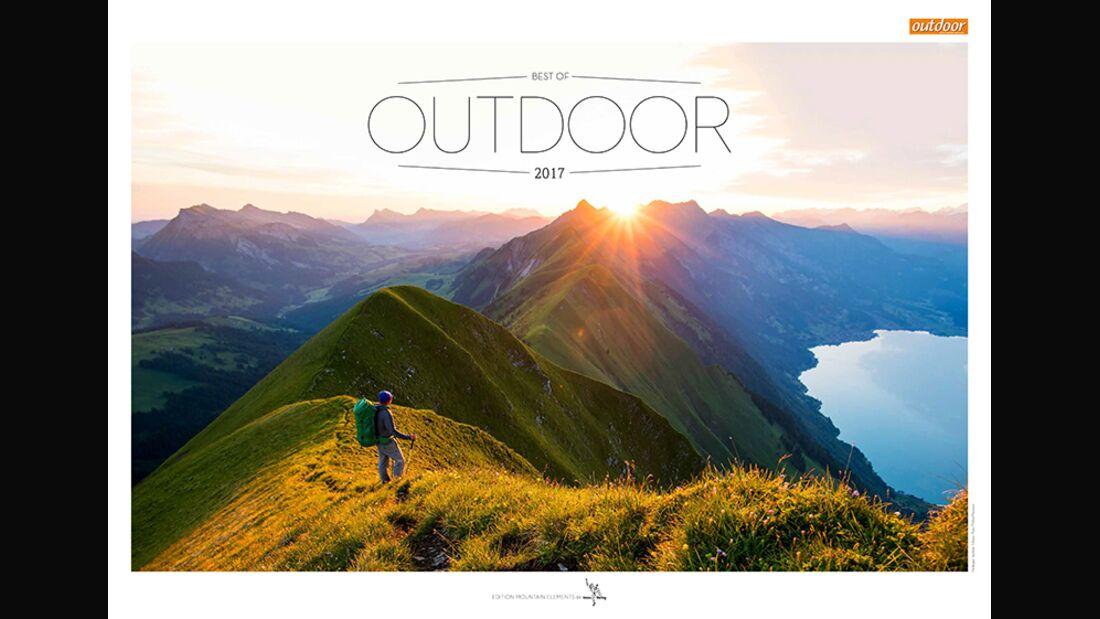 OD 2016 Kalender Best of Outdoor 2017 Titel