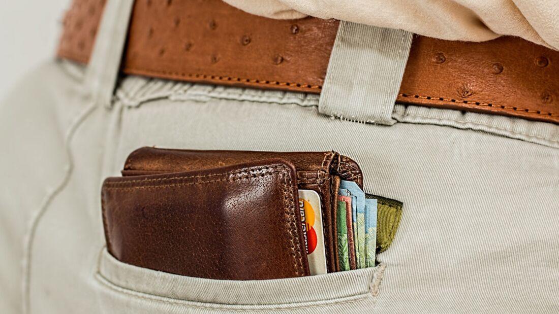 OD 2016 Kreditkarte Ausland Geldbörse Geldbeutel Tipps