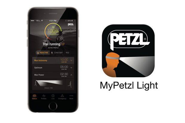 OD 2016 Petzl Reactik Stirnlampe App