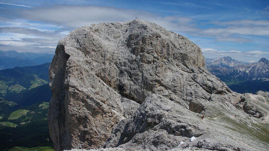 OD 2016 Südtirol Dolomiten Villnöss Gipfel des Peitlerkofel