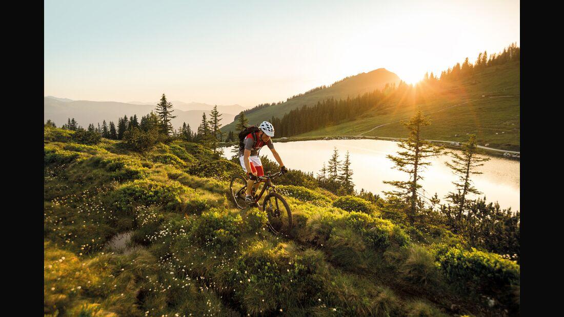 OD 2016 Trans Kitz Alp Bike Trail Kreuzjöchlsee