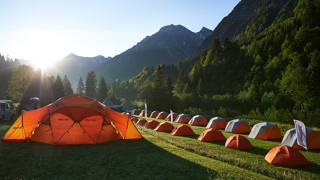 OD 2017 Marmot Family Camp Aufmacher Camping Kleinwalsertal