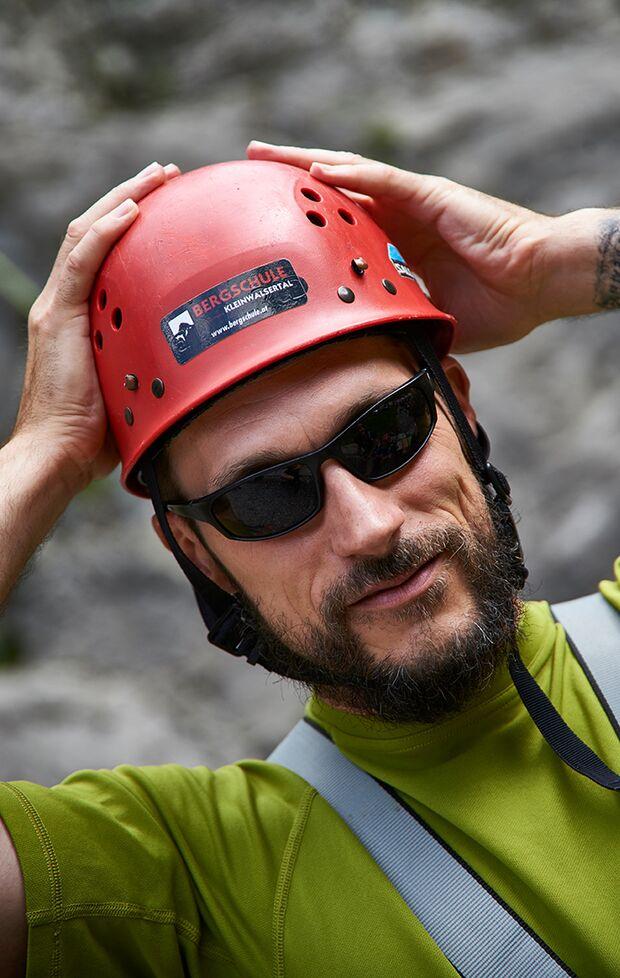 OD 2017 Marmot Family Camp Kleinwalsertal Ralf Bücheler Kletterhelm Klettern