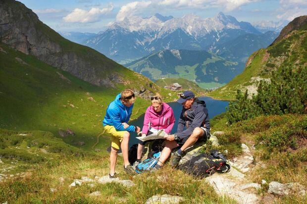 OD 2017 Wanderweg Waiwi Kitzbüheler Alpen Wildseeloder Tirol Weitwandern