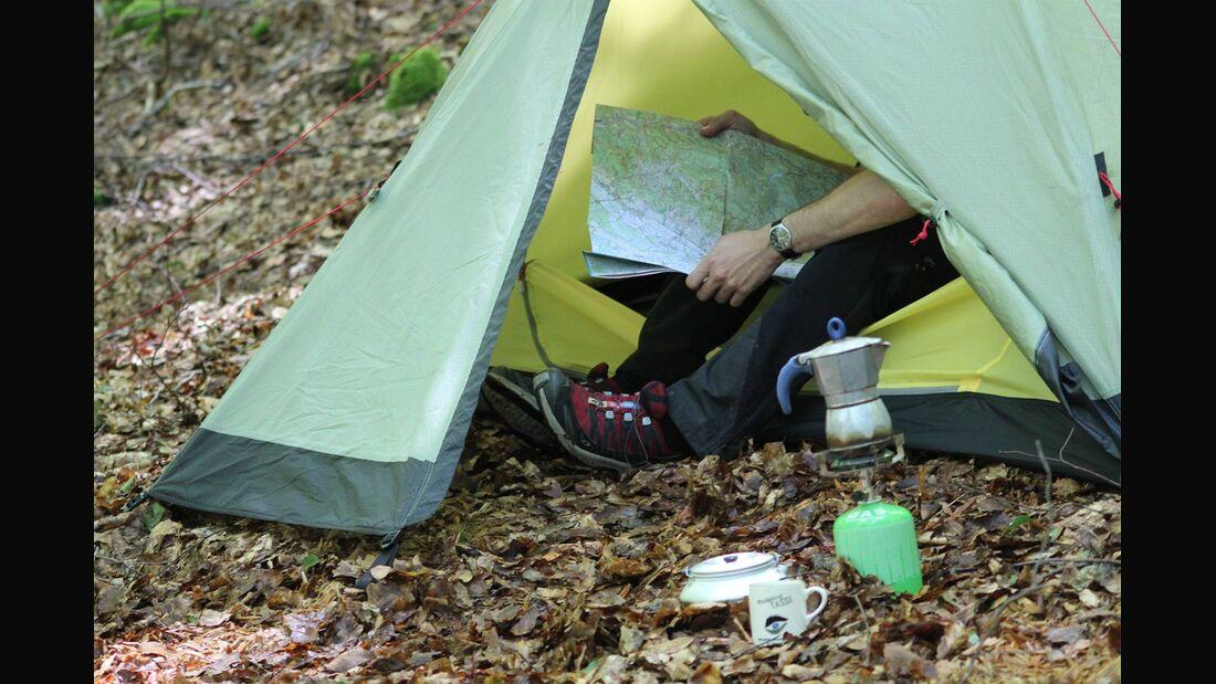 OD 2017 Zelten Camping Trekking Naturpark Schwarzwald Mitte/Nord