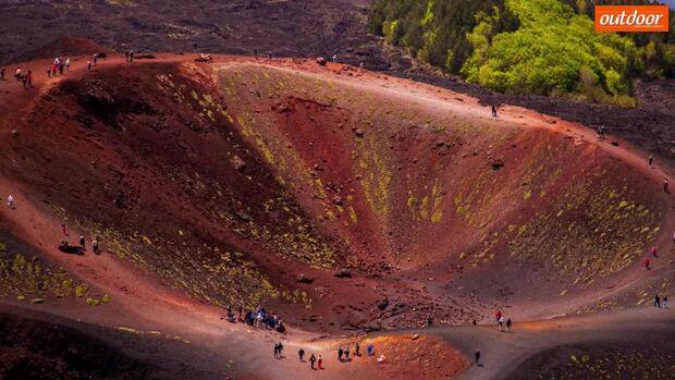 OD 2018 Ätna Vulkan Europa Zahlen Fakten Video