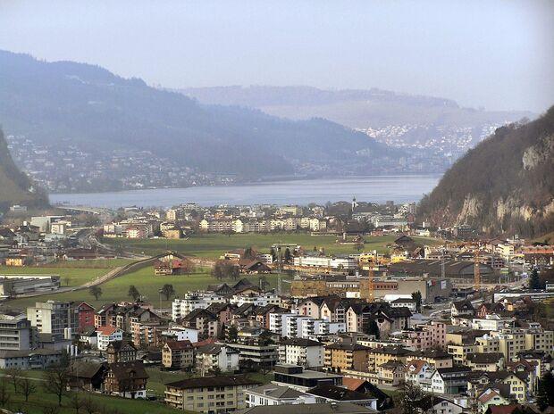 OD 2018 Alpencross Start Stansstad Schweiz Vierwaldstätter See