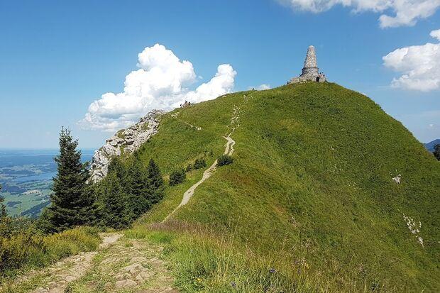 OD 2018 Bergtour Grünten Allgäu Kriegerdenkmal