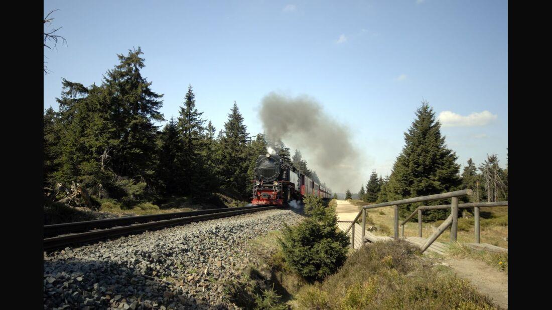 OD 2018 Harzer Hexen Stieg Brocken Nationalpark Harz Brockenbahn