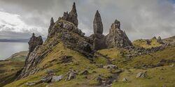 OD 2018 Isle of Skye Schottland Europa Insel Felsen Meer