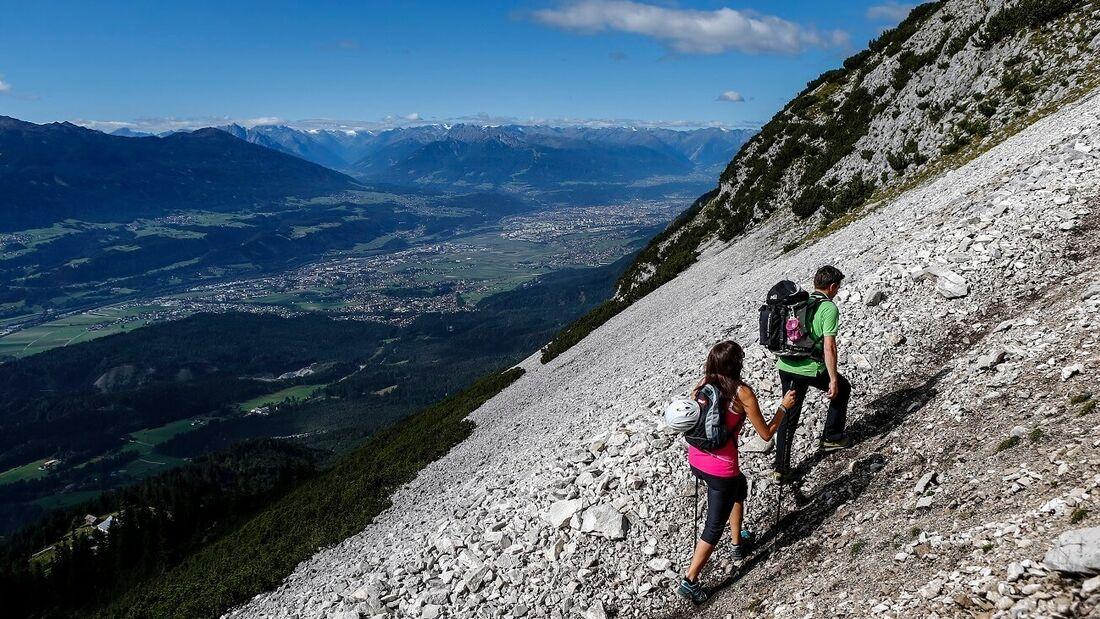 OD-2018-Karwendel Höhenweg Hall Wattens Hall in Tirol