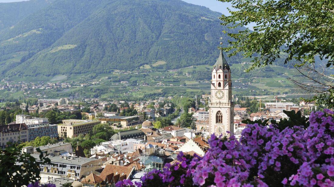 OD 2018 Meran Südtirol Italien Stadt Berge Meraner Land