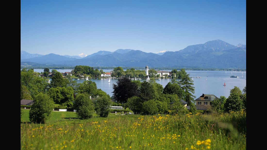 OD 2018 Mythos Bayern Sonderheft S.102 Chiemsee Alpenland Fraueninsel