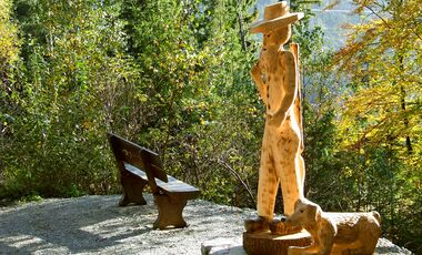 OD 2018 Mythos Bayern Sonderheft S.117 Frankenwald Skulpturenweg