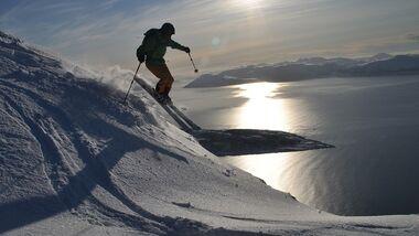 OD 2018 Offpiste Ski Lyngen Alps Lyngenalpen Norwegen Powder Tiefschnee Skitour Ski Skifahren