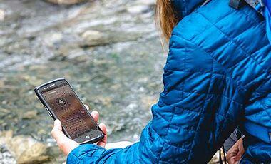 OD 2018 Outdoor-Smartphone Crosscall TrekkerX4