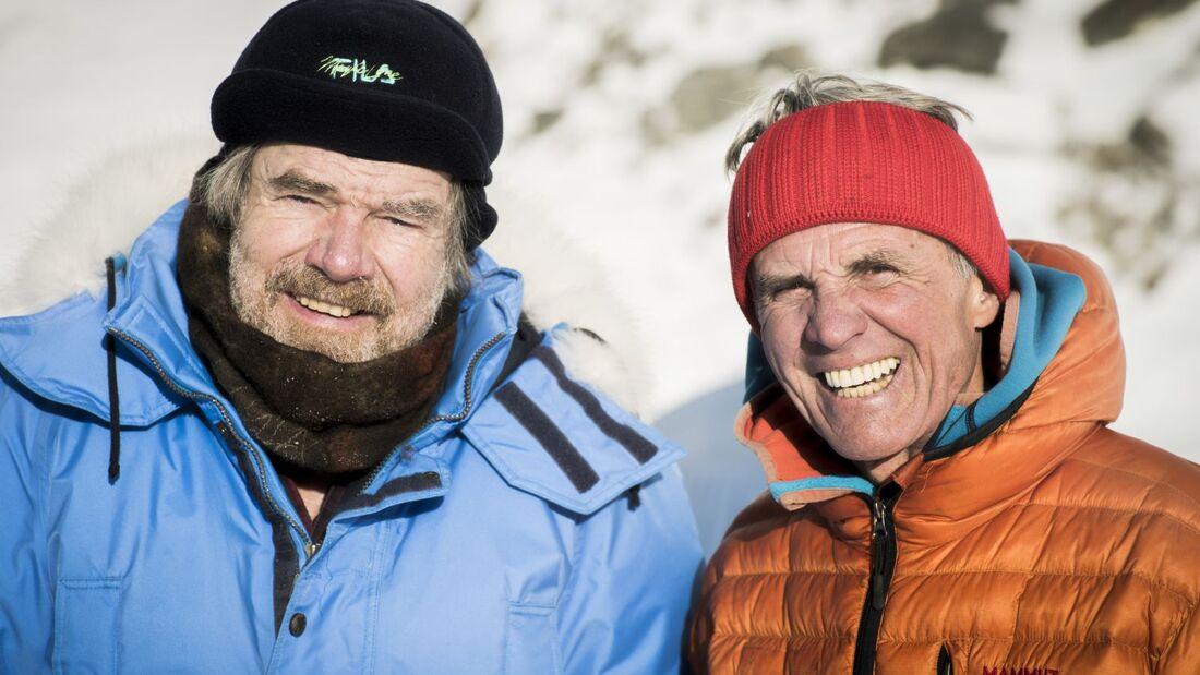 OD 2018 Reinhold Messner Peter Habeler Bergwelten