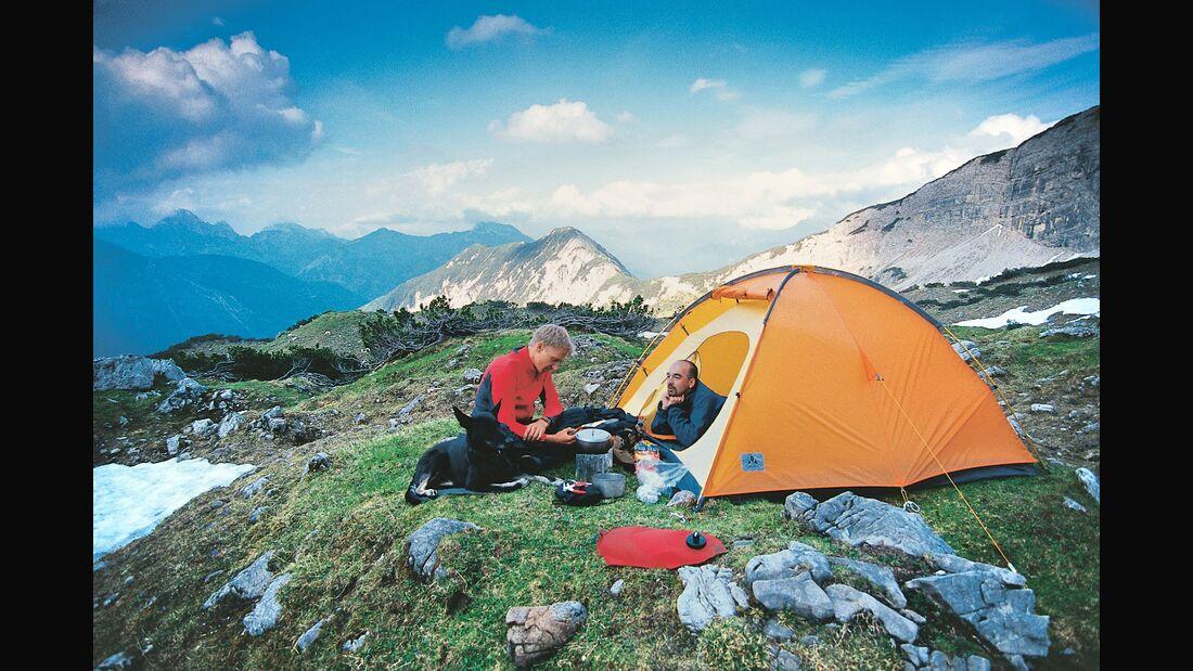 OD 2018 Rückblick 30 Jahre outdoor Allgäu Zelten Camping Alpen