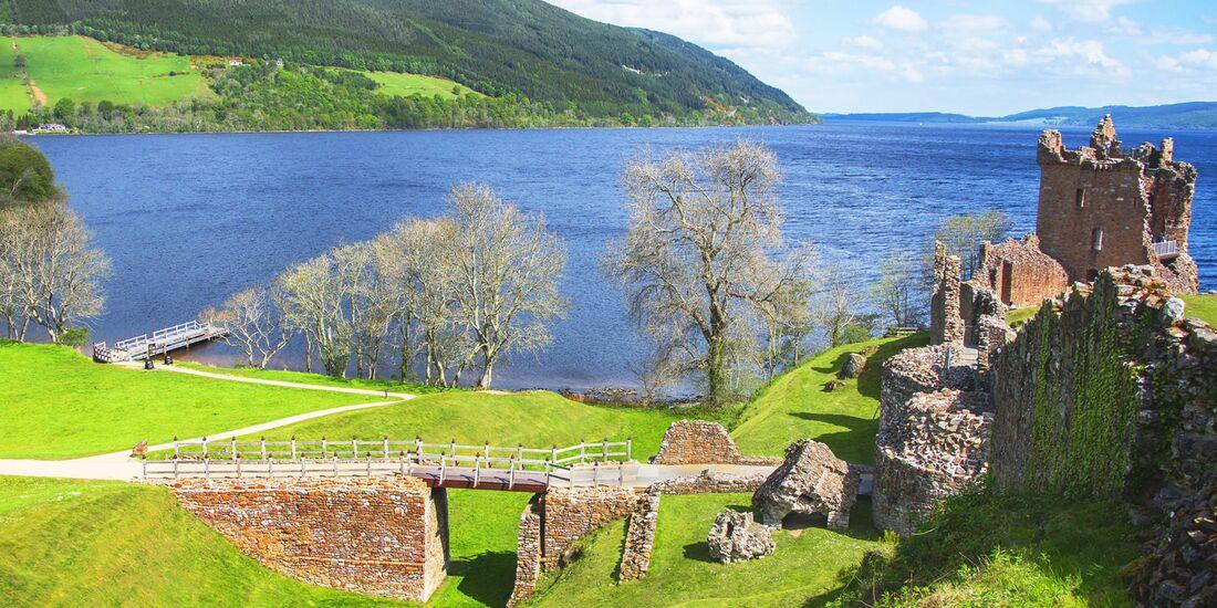 OD 2018 Schottland Urquhart Castle Loch Ness