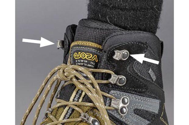 OD 2018 Schuhe binden Flexibilität erhöhen