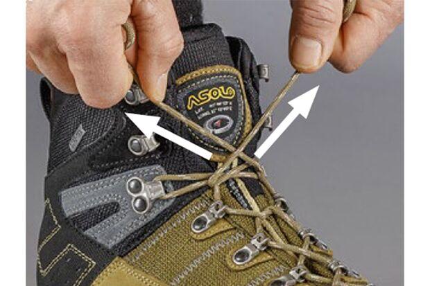 OD 2018 Schuhe binden Und kräftig anziehen