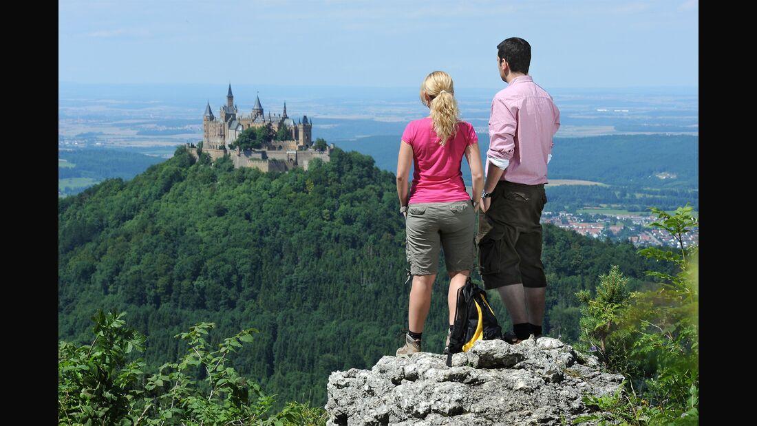 OD 2018 Schwäbische Alb Wandern Süddeutschland Burg Hohenzollern