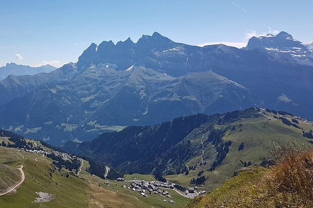 OD 2018 Schweiz Wallis Berge Bergtour Wandern Dents du Midi
