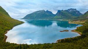 OD 2018 Senja Norwegen Europa Insel Norden Polarkreis
