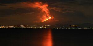 OD 2018 Vulkan Lava Ätna Etna Sizilien Italien