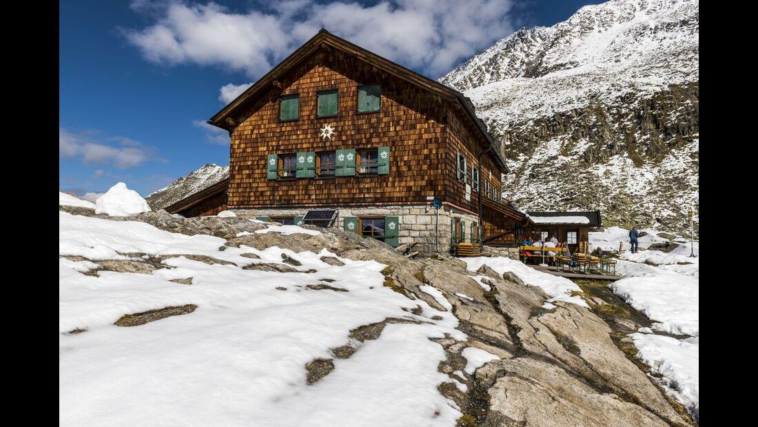 OD 2018 Zittauer Hütte colourbox Hohe Tauern Österreich Berghütte
