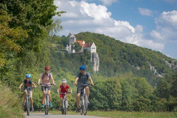 OD 2019 Bayern Family Radfahren Advertorial Altmuehltal Radweg