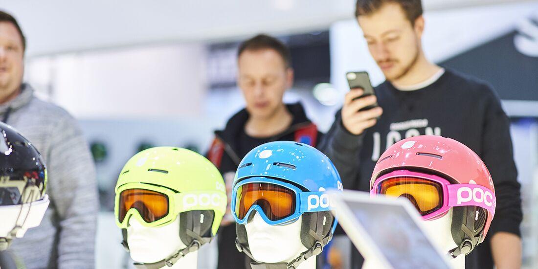 OD 2019 ISPO Munich Skihelme Trends Messe Neuheiten 2020