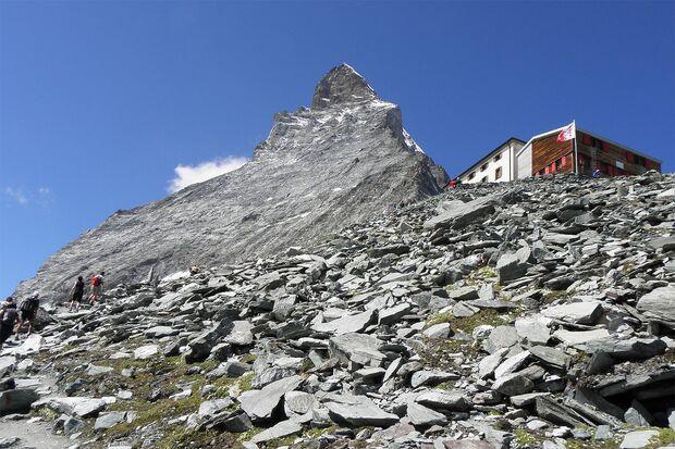 OD 2019 Matterhorn Schweiz Hörnlihütte Berghütte