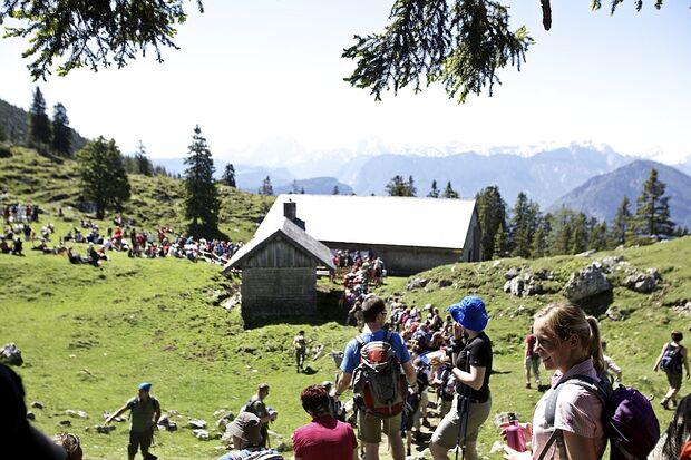 OD 24h Bayern 2012 7 Kohleralm Hütte