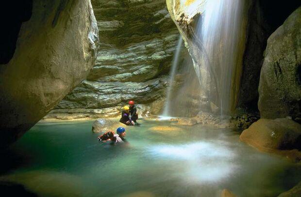 OD Abenteuer Canyoning