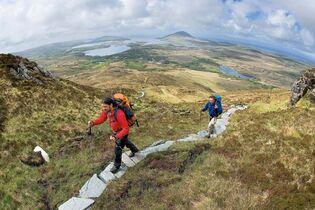 Irland Karte Pdf.Abenteuer Irland Wandern In Connemara Outdoor Magazin Com