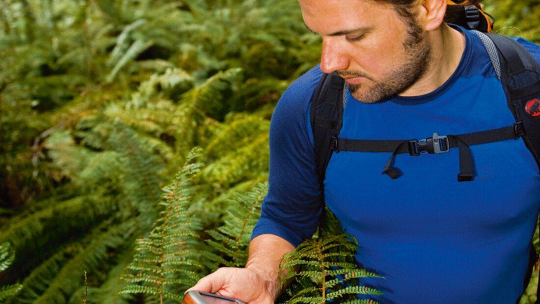 OD Alex im Dschungel mit GPS-Navi